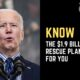Know The $1.9 Trillion Rescue Plan For You